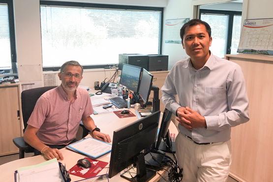 Thanh Binh VO and Xavier FREULON